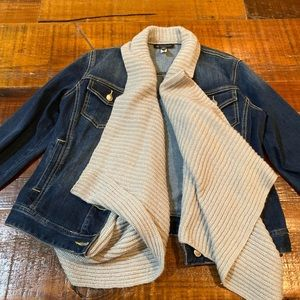 Inc jeans jacket